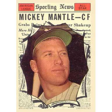 Mickey Mantle  - 1961 Topps
