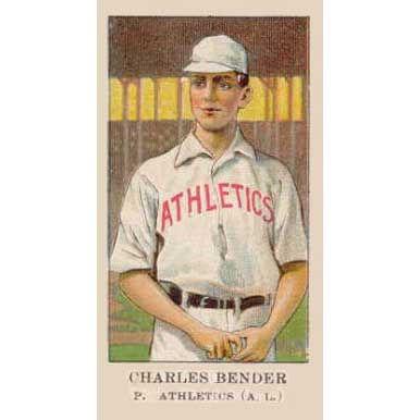Charles Bender - 1908 Caramel E91