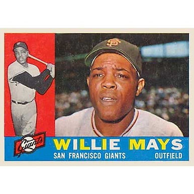 Willie Mays  - 1960 Topps