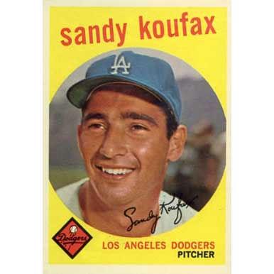 Sandy Koufax   - 1959 Topps