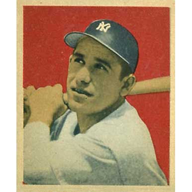Yogi Berra   - 1949 Bowman