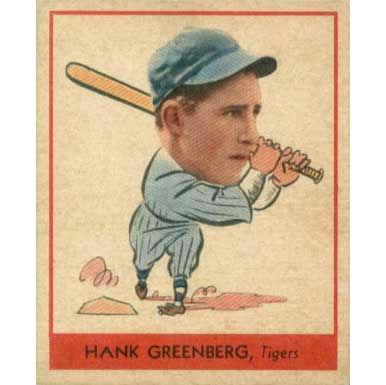 Hank Greenberg   - 1938 Goudey