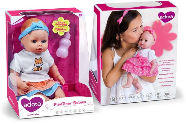 Adora - Playtime Babies Packaging
