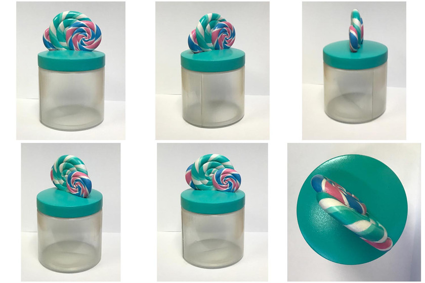 Candy Club – 3D Printed Product Prototype