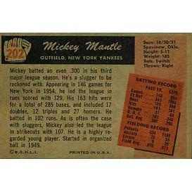 1955 Bowman Baseball Cards