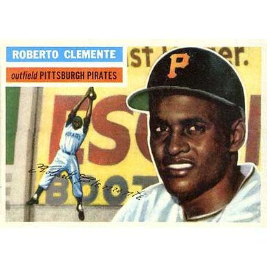 Roberto Clemente  - 1956 Topps