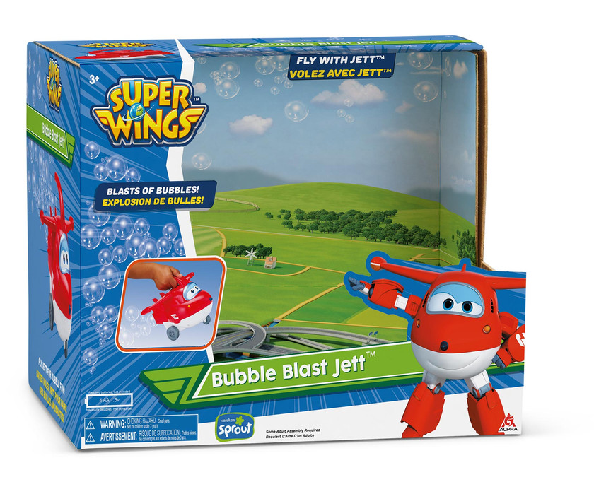 Superwings - Bubble Jet Packaging