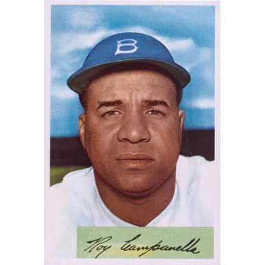 Roy Campanella   - 1954 Bowman