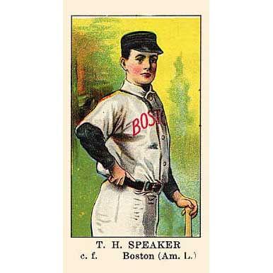 Tris Speakers - 1908 Caramel E91
