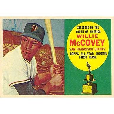 Willie McCovey  - 1960 Topps