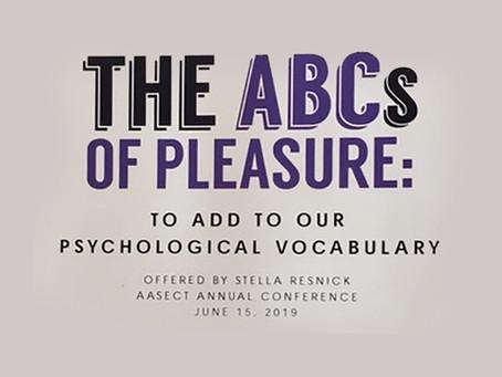 The ABC's of Pleasure