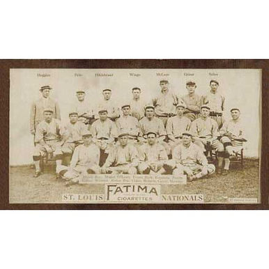 St. Louis Nationals - 1913 Tobacco T-200
