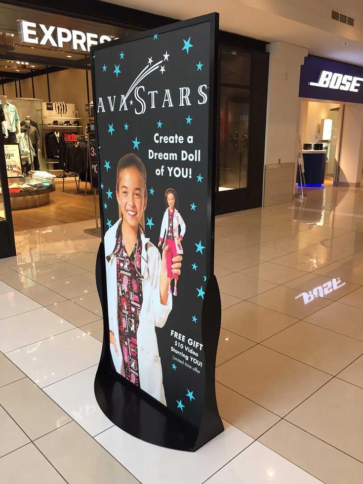 AvaStars - Kenwood Standee