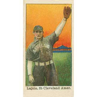 Nap Lajoie - 1909 Caramel E101