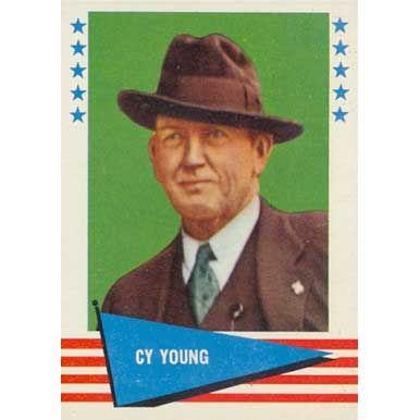 Cy Young  - 1961 Fleer