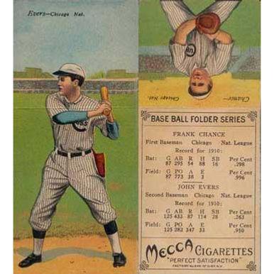Chance/Evans - 1911 Tobacco T-201