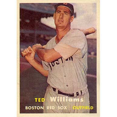 Ted Williams  - 1957 Topps