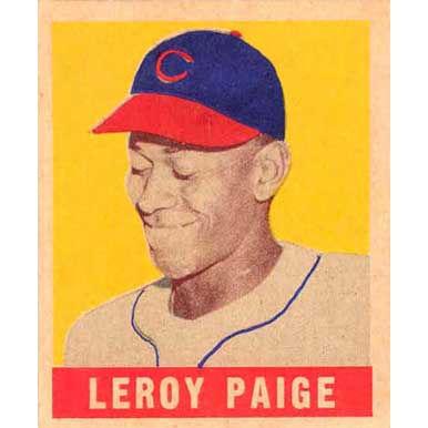 Leroy Paige    - 1940 Leaf