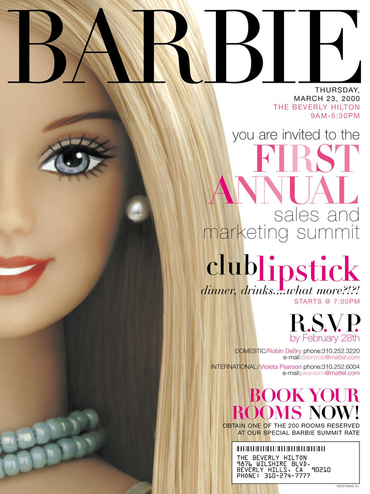 Barbie - Collateral Licensing - Summit Poster