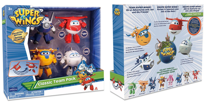 Superwings - Team Packaging