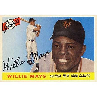 Willie Mays   - 1955 Topps