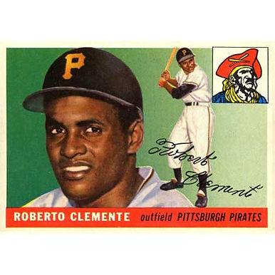 Roberto Clemente   - 1955 Topps