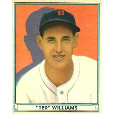 Ted Williams   - 1941 Play Ball
