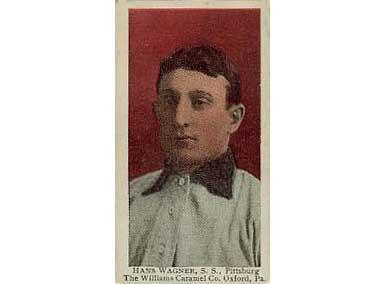 Honus Wagner - 1910 Caramel E90-3