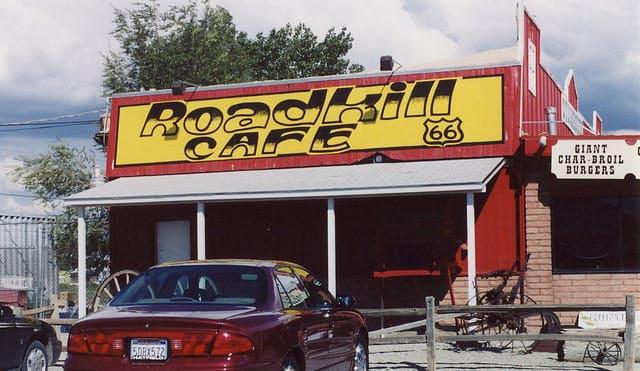 Roadkill Cafe Don Graham under Creative Commons