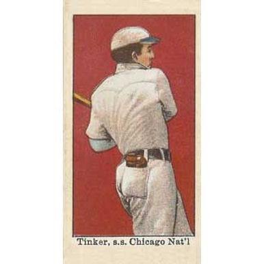 Joe Tinker - 1909 Caramel E101