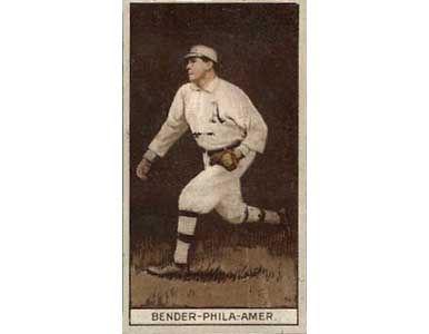 Chief Bender 1912 Tobacco T-207