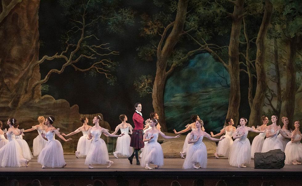 Los Angeles Ballet La Sylphide Tigran Sargsyan LAB Ensemble