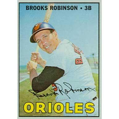 Brooks Robinson - 1967 Topps