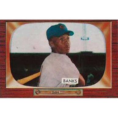 Ernie Banks   - 1955 Bowman