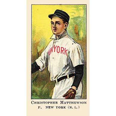 Christy Mathewson - 1908 Caramel E91