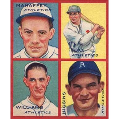 Athletics    - 1935 Goudey