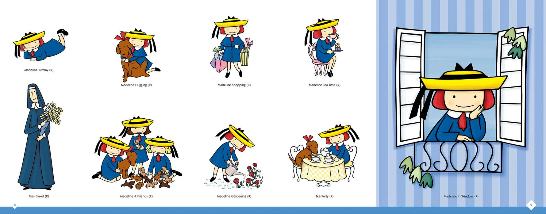 Madeline Style Guide