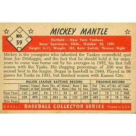 1953 Bowman Baseball Cards