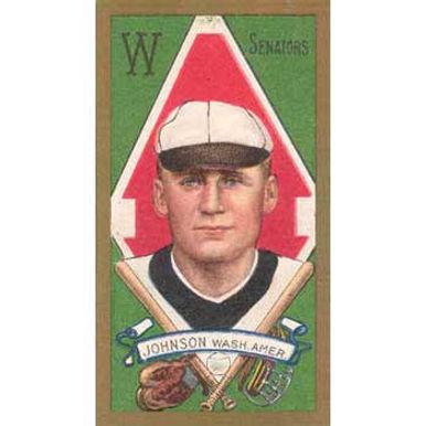Walter Johnson - 1911 Tobacco T-205