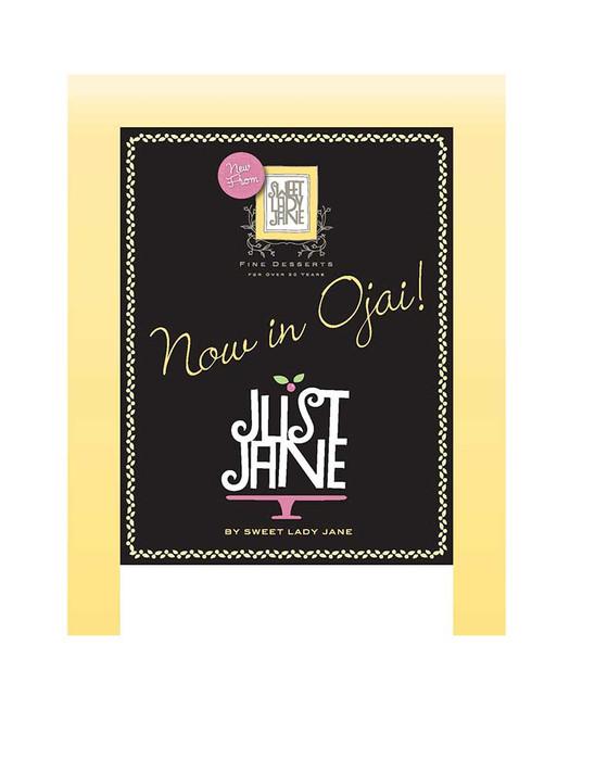 Sweet Lady Jane - Now Ojai Blackboard