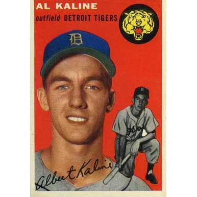 Al Kaline   - 1954 Topps