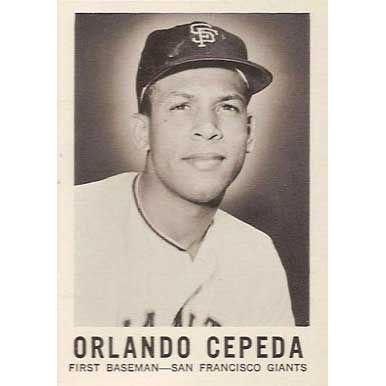 Orlando Cepeda  - 1960 Leaf