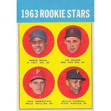 1963 Rookie Stars  - 1963 Topps