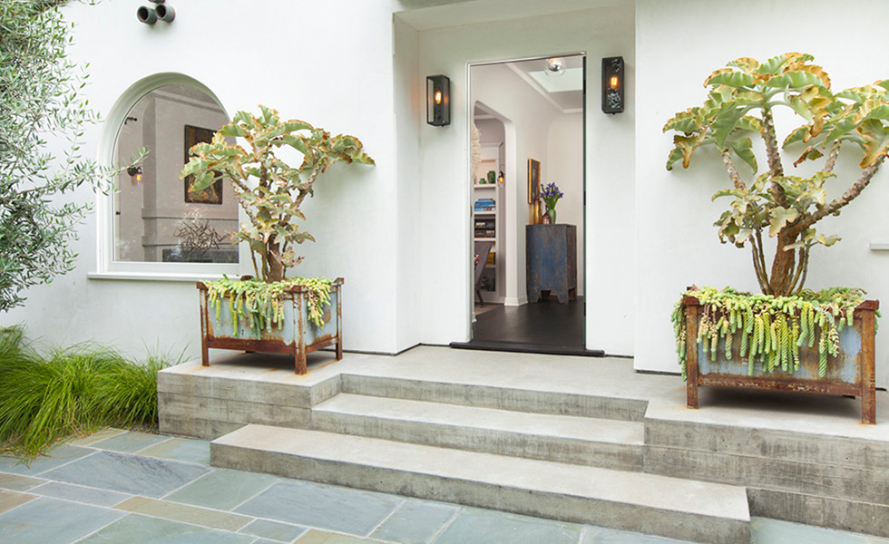 A Spanish Bungalow's Sophisticated Garden