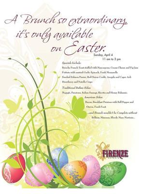 Firenze Osteria - Easter Menu Insert