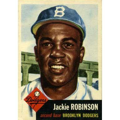 Jackie Robinson   - 1953 Topps