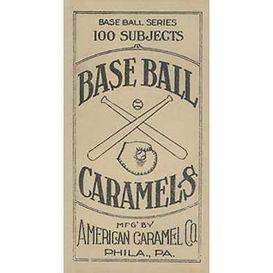 Caramel E90-2  Baseball Cards