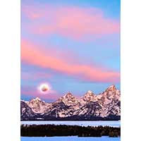 TETON MORNING  STUDY 5  (2019)