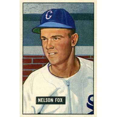 Nelson Fox 1951 Bowman