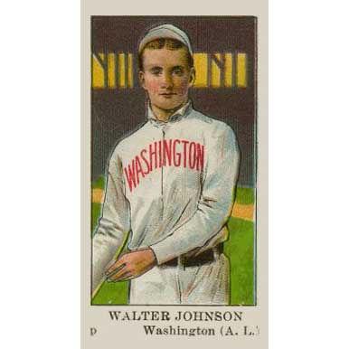 Walter Johnson - 1908 Caramel E91